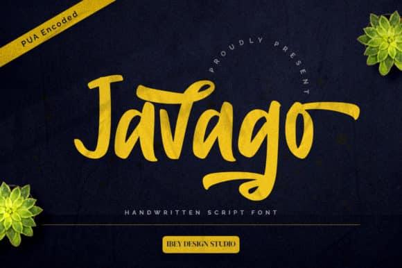 Javago Script Font