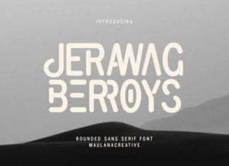 Jerawag Berroys Font