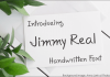 Jimmy Real Font