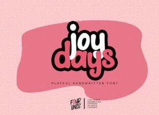 Joy Days Font