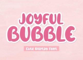 Joyful Bubble Font