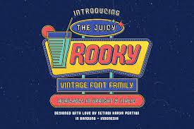 Juicy Rooky Vintage Family