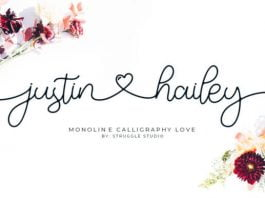 Justin Hailey Font