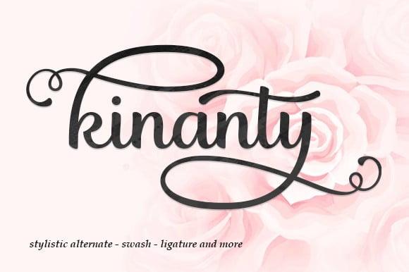 KInanty Font