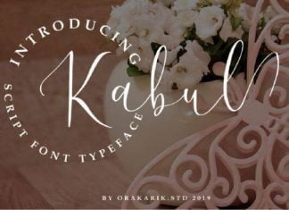 Kabul Font