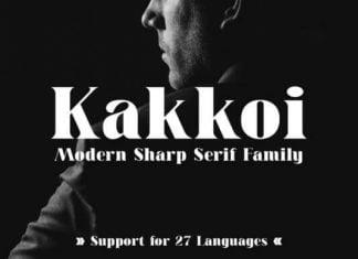 Kakkoi Font