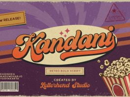 Kandani - Retro Bold Script