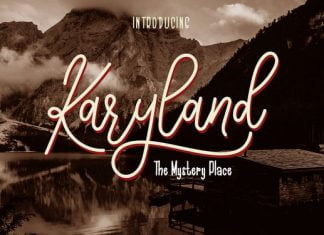 Karyland Duo Font