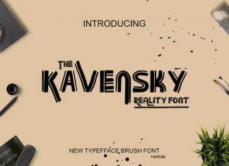 Kavensky Font