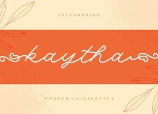 Kaytha Font