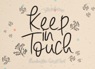 Keep in Touch Font
