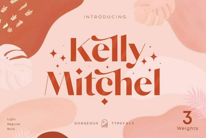 Kelly Mitchel Font