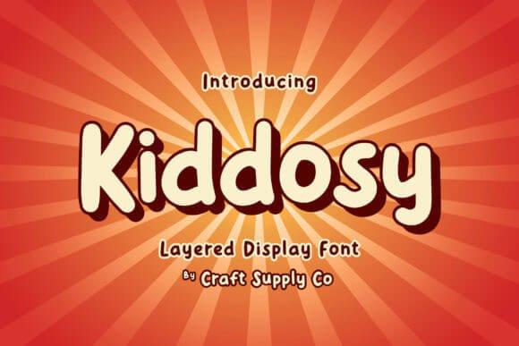 Kiddosy Font
