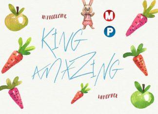 King Amazing Font