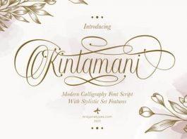Kintamani Font