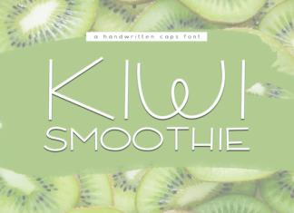 Kiwi Smoothie Font