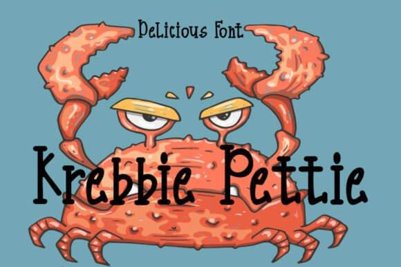 Krebbie Pettie Font