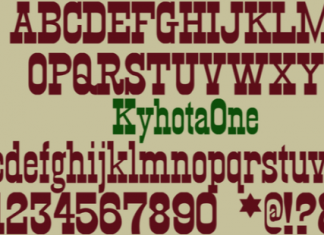Kyhota Font