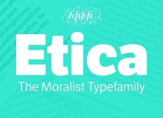 LFT Etica Font