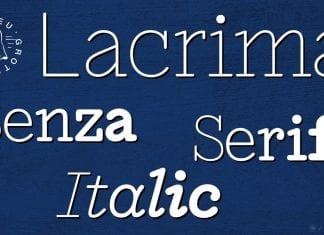 Lacrima Font