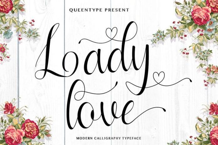 Ladylove Script Font