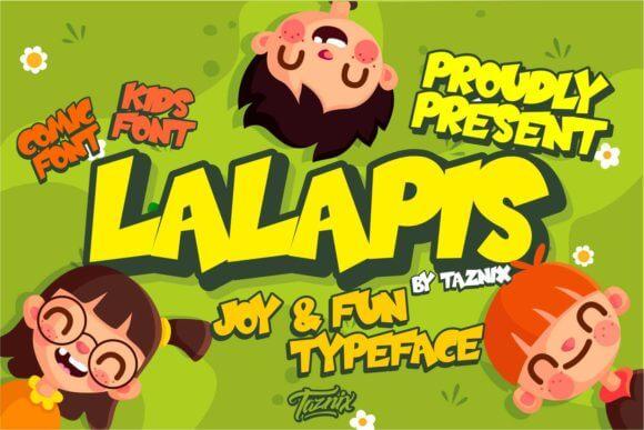 Lalapis Font