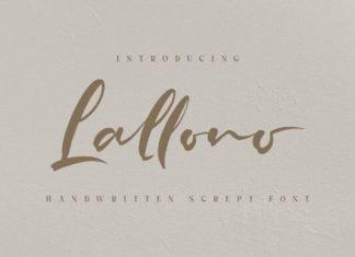Lallono Font