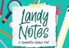 Landy Notes Font