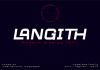Langith Font