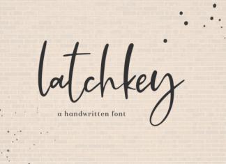 Latchkey Font