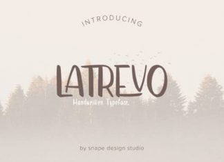 Latrevo Font
