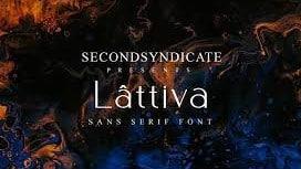 Lattiva - Sans Serif Font