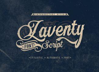 Laventy Script Font
