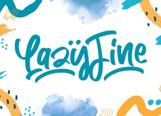 Lazy Fine - Quirky Display Font