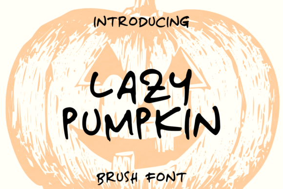 Lazy Pumpkin Font