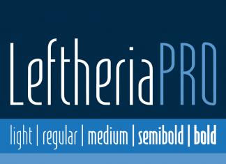 LeftheriaPRO Font