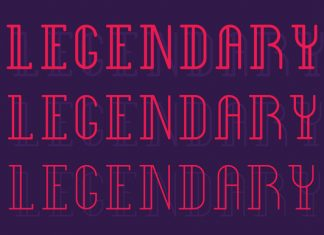 Legendary Type Font