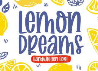 Lemon Dreams Font