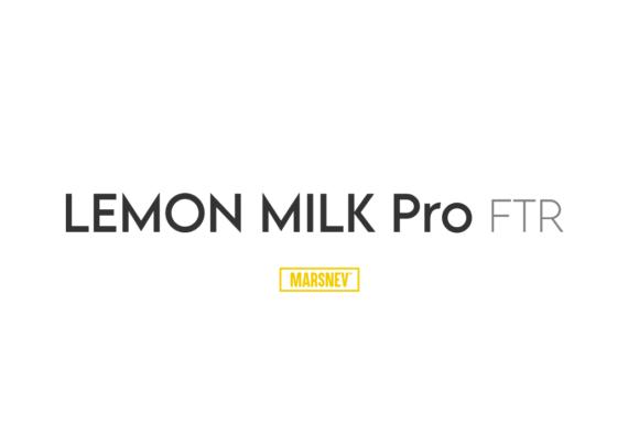 Lemon Milk Pro FTR Font