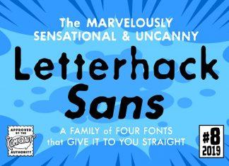 Letterhack Sans Font