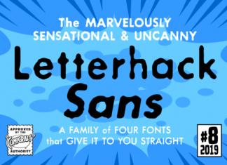 Letterhack Sans Complete Family