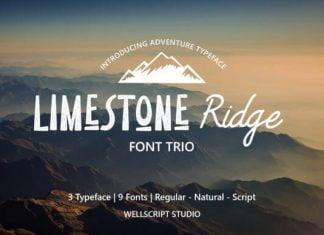 Limestone Ridge Font