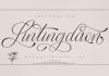 Lintingdaon Script Font