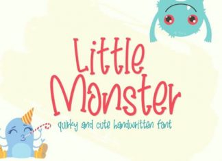 Little Monster Font