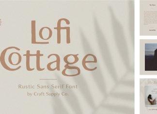 Lofi Cottage - Rustic Sans Serif Font