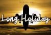 Long Holiday Font