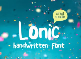 Lonic Font