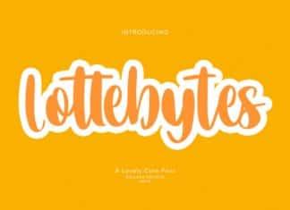 Lottebytes Font