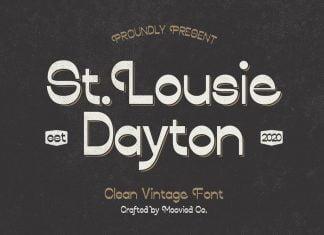 Louise Dayton Display Font