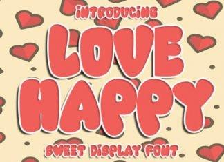 Love Happy Font